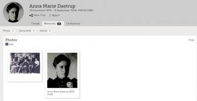 Show Anna Marie Dastrup