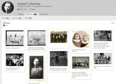 Show Leland L Dastrup