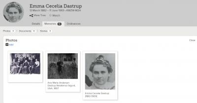 Show Emma Cecelia Dastrup